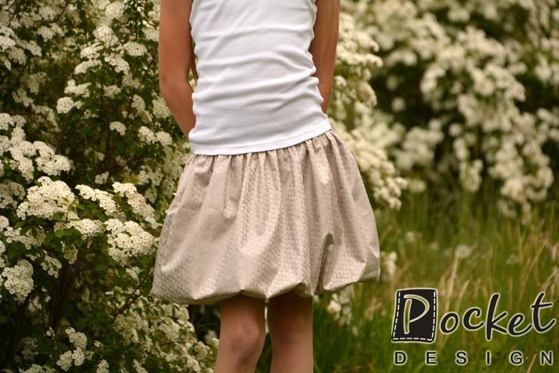 Dětská balonová sukně