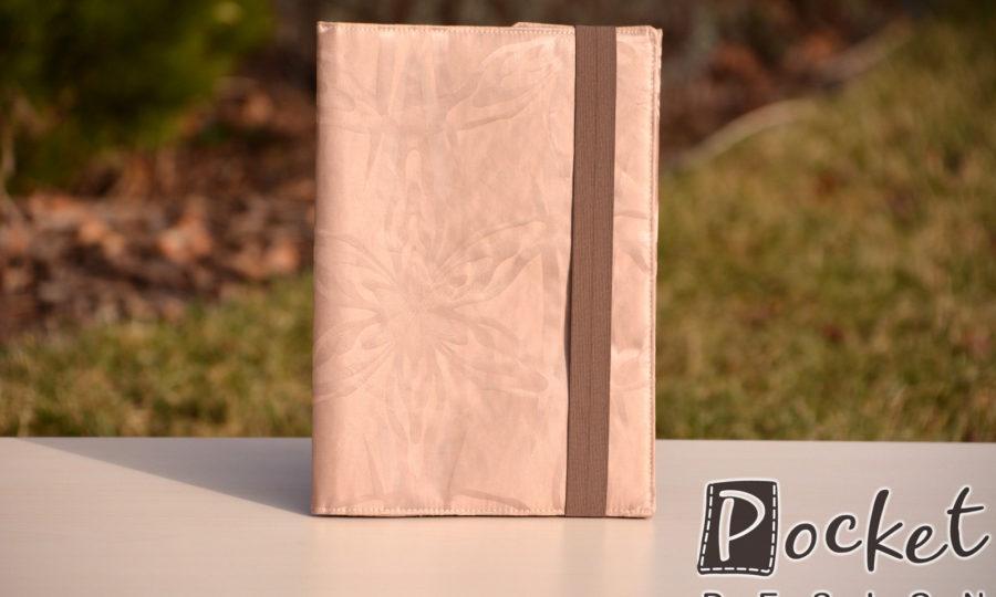 Obal na diář, knihu v barvě bílé kávy